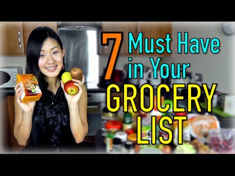 Video 7 Must Have in Your Grocery List!