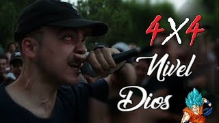4x4 NIVEL: DIOS Épicos