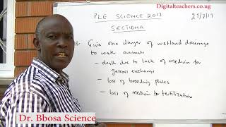 PLE science 2017 section A