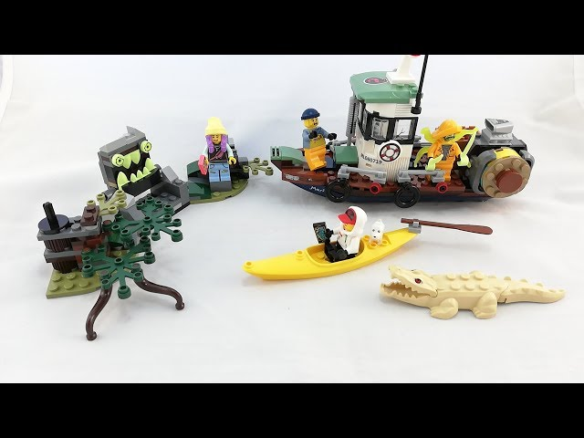 Recenzja - LEGO Hidden Side 70419 Wrecked Shipping Boat