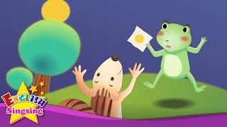 The Green Frog - Nó ở đâu? - câu chuyện tiếng Anh cho trẻ em