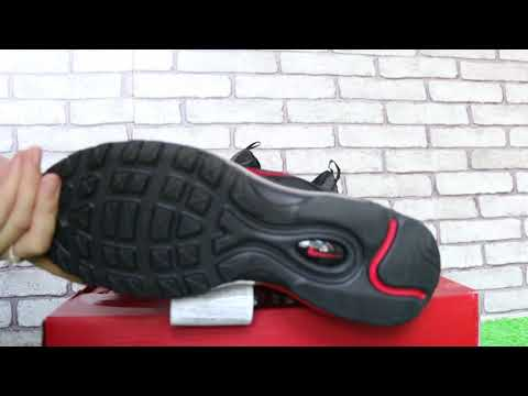 Will it Release ? 2018 Nike Air Max 97 x Kappa Black Red HD Review