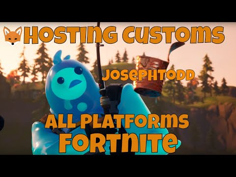 🔴 Fortnite Stream Hosting Zone Wars Customs With Viewers! NAE Customs PS4, XBOX, PC, IOS, Switch