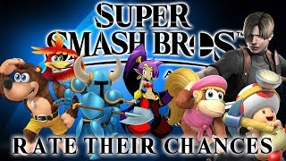 Super Smash Bros Ultimate - Rate Their Chances [6] Banjo-Kazooie, Dixie Kong, Shovel Knight & More!