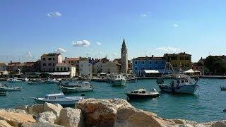 preview picture of video 'Kroatië - Istrië 09 - Fazana 2 - Baai van Medulin / 2008'