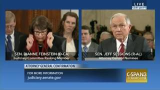 Feinstein questions Sessions on Muslim ban, torture and more | Kholo.pk