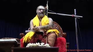 Anugraha Bhashanam at Bharatiya Vidya Bhavan, Chennai 8/1/2020