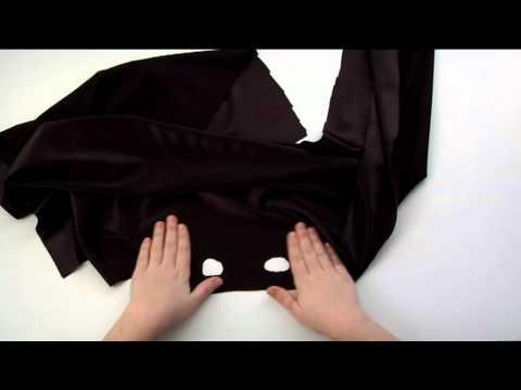 Cómo realizar el disfraz de Bat Girl