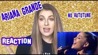 """Ariana Grande """"No Autotune"""" - REACTION + AG4 Thoughts"""