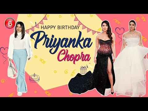 Priyanka Chopra Happy Birthday: 5 Most Stunning Looks Of The 'Desi Girl'