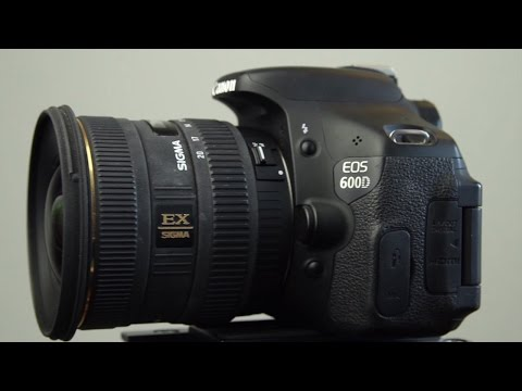 Sigma 10-20mm f/4-5.6 EX DC HSM Super Wide Angle Lens Review