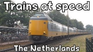 Trains At Speed The Netherlands
