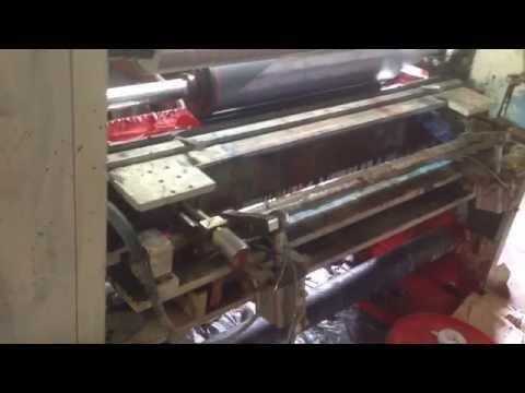 6 Colour Rotogravure Printing Line Machine