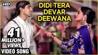 Didi Tera Devar Deewana High Quality Hum Aapke Hain Koun Lata & Spb Duet Best Romantic Song