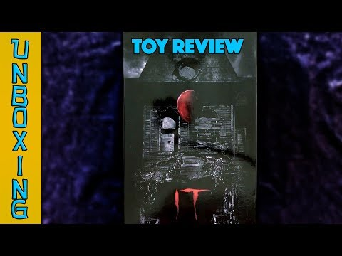 UNBOXING! NECA It Ultimate Well House Pennywise 7 Inch Scale Action Figure - Toy Review!