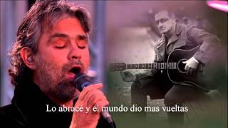 Andrea Bocelli ft. Bono - L' Incontro [Sub. Español] HD