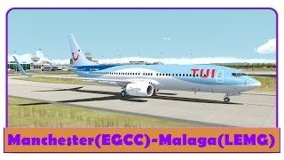 FSX] Aerosim 787 Full Flight! | Corfu-Manchester | Thomson