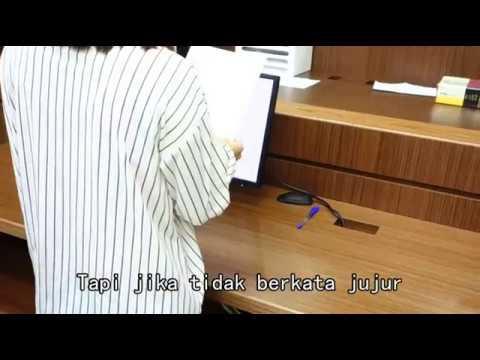 證人到庭應注意事項-印尼語版
