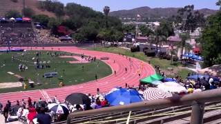 Long Beach Poly 4x100 Girls SS CIF Finals 5/19/2012