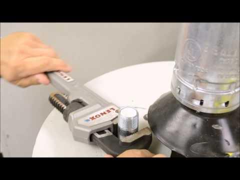 Blue Lightning Aluminum//Zinc Flexible Anode Rod Drainage Kit 79117 Nipple Fitting