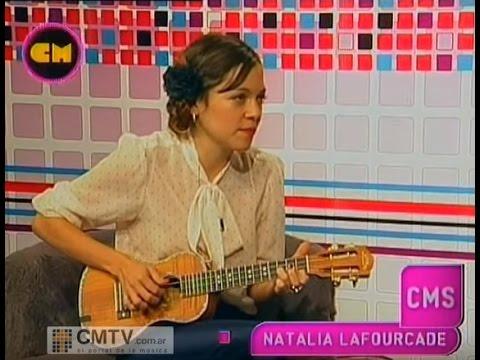 Natalia LaFourcade video Limosna - Estudio CM Agosto 2012