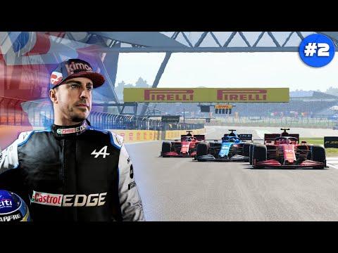 PRIMERA CARRERA SPRINT   CAMPEONATO FERNANDO ALONSO Y ALPINE MOD F1 2021   GRAN BRETAÑA