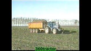 Bietenrooien Met Een Riecam Rooier En Ford Tractoren Koninklijke Maatschap De Wilhelminapolder