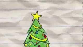 Mi árbol de Navidad. Cómo decorar un árbol con formas