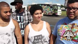 BringItackTour Stage in New York @ Vans Warped Tour 2012