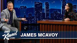 James McAvoy Wants to End the Man Bun Stigma