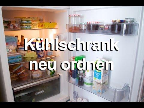 Ordnung in der Küche | Kühlschrank ausmisten und neu ordnen