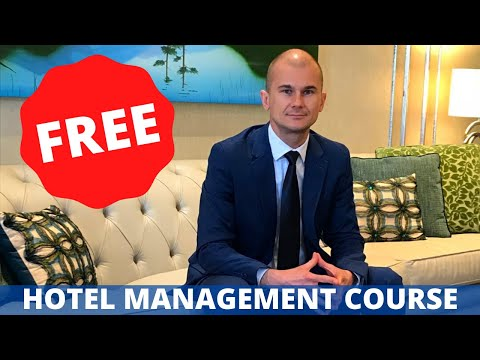 Hotel Management Course - Hospitality Industry - Career in Hospitality Management #1