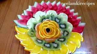 Beautiful And Unique Fruits Decorations Ideas /🍅215🍅/ Neelamkirecipes