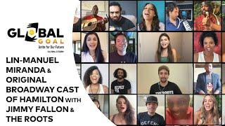 "Members Of Original Broadway Cast Of HAMILTON W/ Jimmy Fallon & The Roots ""Helpless"""