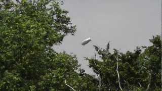preview picture of video 'Airship PEGASOS over Rheinstetten / Luftschiff / Zeppelin über Rheinstetten'