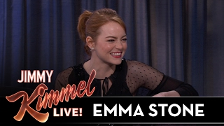 Emma Stone On Deciding To Become An Actor
