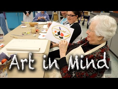 Video: Art in Mind helps those with memory loss