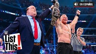 6 récords establecidos por Brock Lesnar: WWE List This!