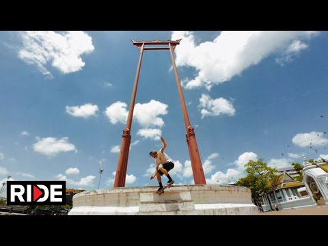 United Kingdoms - Etnies' Barney Page and Co in Thailand