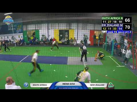 WICF 2019 Monday 21 Oct South Africa M35 VS New Zealand M35 19:30 COURT 1