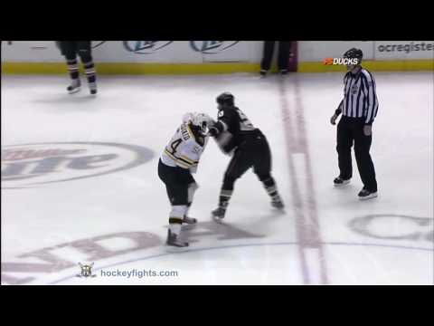 Troy Bodie vs. Adam McQuaid