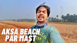 Aksa Beach after Lockdown 2021, Mumbai Vlogs | Beach Gola, Pani Puri 🔥| Shot By Amit