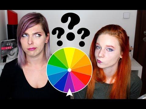 Barevná Ruleta Makeup Challenge   #jetovtobě