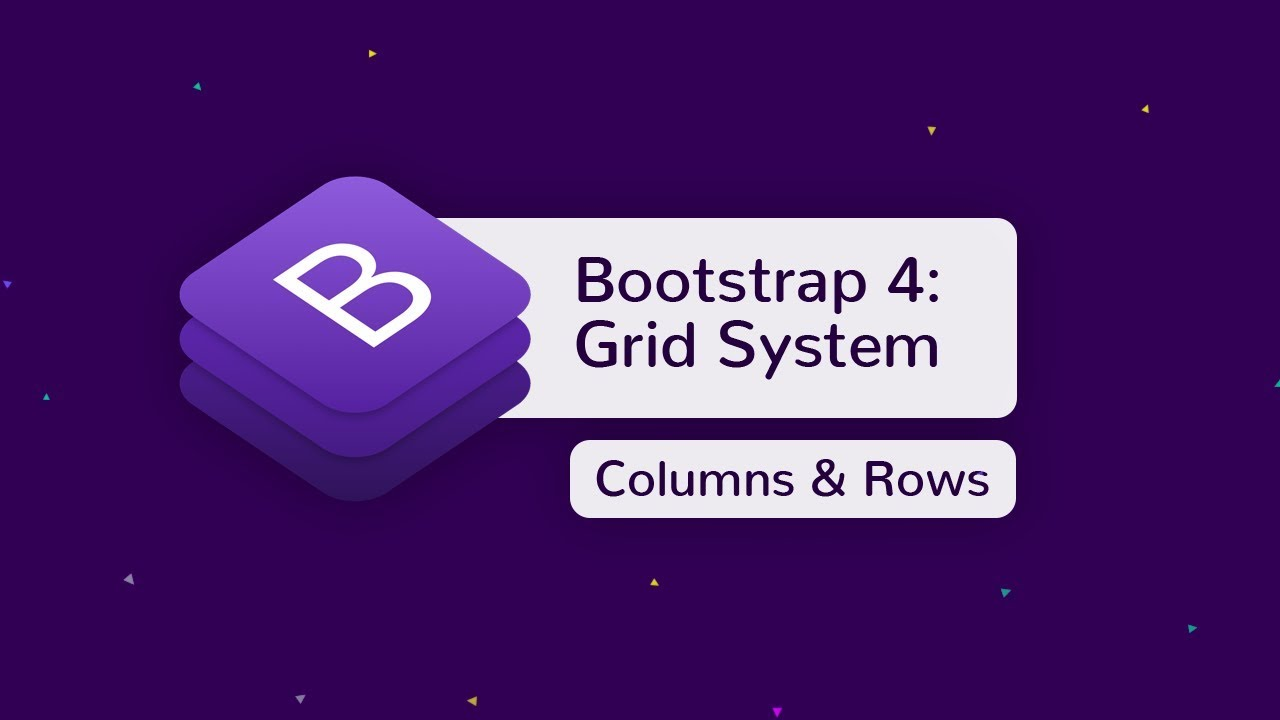 Bootstrap 4 Grid - Tutorial Video Preview