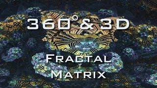 360° stereoscopic 3D Fractal Matrix Slideshow - Mandelbulb 3D - VR Proof of Concept