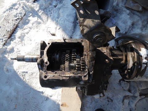 Ремонт КПП УАЗ буханка, вылетает скорость (снятие, ремонт, установка)