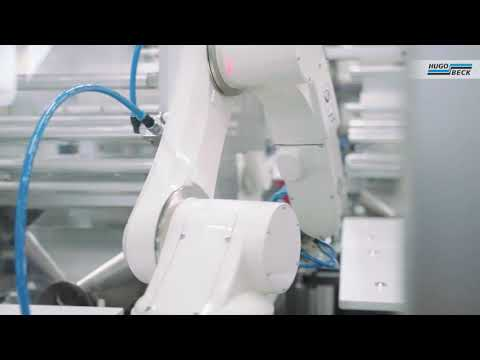 Integrated packaging robot system
