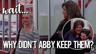 ranking dancers i was surprised abby didn't keep!   dance moms