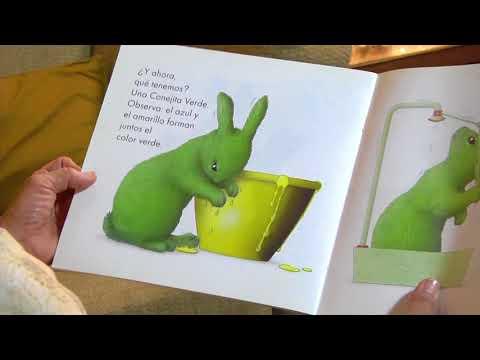 La tía de los cuentos - Los conejos aprenden colores