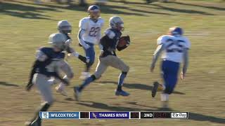 Football highlights: Thames River 34, Wilcox Tech 14